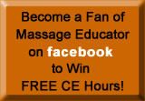Join Massage Educator on Facebook